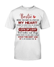 Bestie When You're Feeling Lonely Blue Wear Shirt Classic T-Shirt front