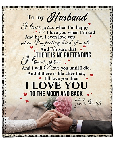 To My Husband I Will Love You Until I Die