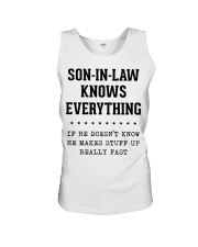 Son-In-Law Knows Everything Unisex Tank thumbnail