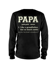 Papa Definition Long Sleeve Tee thumbnail
