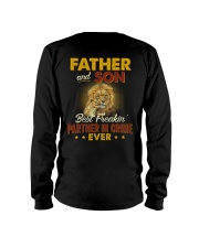 Lion Father Son Best Freakin' Partner In Crime  Long Sleeve Tee thumbnail
