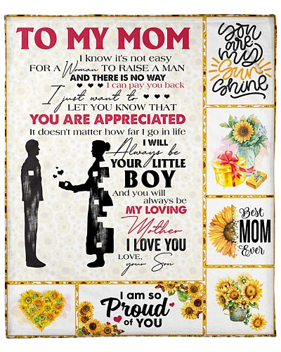 Mom You'll Always Be My Loving Mother I Love You
