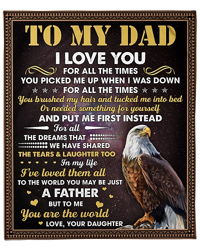 Eagle To Me Your Are The World I Love You-For Dad
