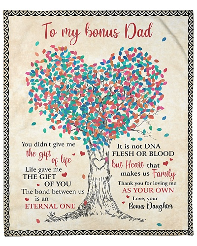 To My Bonus Dad Thanks For Loving Me As Your Own