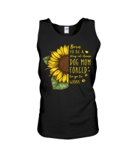 Born To Be A Stay At Home Dog Mom Unisex Tank thumbnail