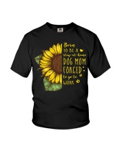 Born To Be A Stay At Home Dog Mom Youth T-Shirt thumbnail
