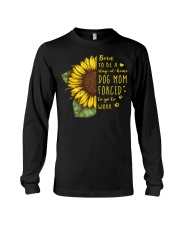 Born To Be A Stay At Home Dog Mom Long Sleeve Tee thumbnail