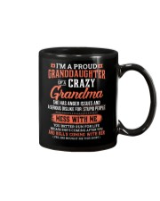 I'm A Proud Granddaughter Of A Crazy Grandma Mug thumbnail
