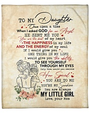 """Once Upon A Time When I Asked God-Mom To Daughter Fleece Blanket - 50"""" x 60"""" front"""