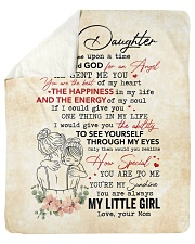 Once Upon A Time When I Asked God-Mom To Daughter Sherpa Fleece Blanket tile