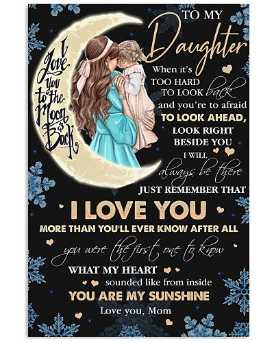 To My Daughter Love You More Than You'll Ever Know