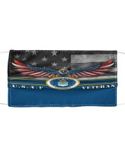 To Dad Eagle USAF Veteran  Cloth face mask front