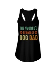 The World's Greatest Dog Dad Ladies Flowy Tank thumbnail