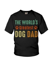 The World's Greatest Dog Dad Youth T-Shirt thumbnail