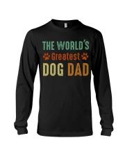 The World's Greatest Dog Dad Long Sleeve Tee thumbnail