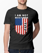 I Am Not Most Men Papa Classic T-Shirt lifestyle-mens-crewneck-front-13