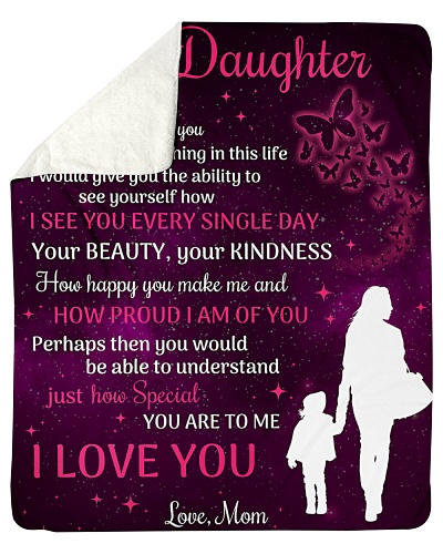 To My Beautiful Daughter You Are To Me I Love You