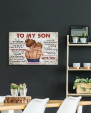 For All The Things My Hands Have Held -Mom To Son 24x16 Gallery Wrapped Canvas Prints aos-canvas-pgw-24x16-lifestyle-front-19
