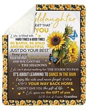 Never Forget That I Love U Sunflower GM To GD Sherpa Fleece Blanket tile
