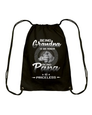 Being Grandpa Is An Honor Drawstring Bag thumbnail