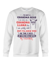 I Am More Of A Grandma Llama Like Crewneck Sweatshirt thumbnail