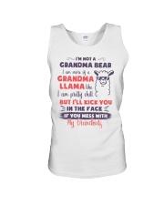 I Am More Of A Grandma Llama Like Unisex Tank thumbnail