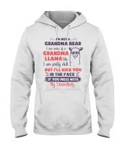 I Am More Of A Grandma Llama Like Hooded Sweatshirt thumbnail