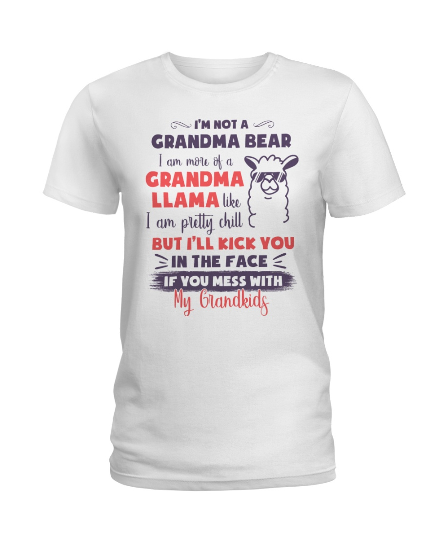 I Am More Of A Grandma Llama Like Ladies T-Shirt