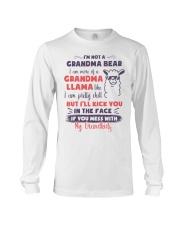 I Am More Of A Grandma Llama Like Long Sleeve Tee thumbnail