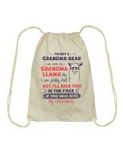I Am More Of A Grandma Llama Like Drawstring Bag thumbnail