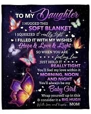 """I Hugged This Soft Blanket Mom To Daughter Fleece Blanket - 50"""" x 60"""" front"""