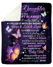 """I Hugged This Soft Blanket Mom To Daughter Sherpa Fleece Blanket - 50"""" x 60"""" thumbnail"""