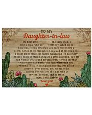 DIL Cactus So Much More I'll Forever Love You 17x11 Poster front
