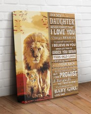 Lion- Never Forget That I Love You Dad-To-Daughter 11x14 Gallery Wrapped Canvas Prints aos-canvas-pgw-11x14-lifestyle-front-14