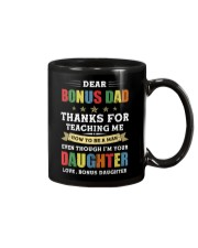Bonus Dad Thanks for teaching me how to be a man Mug front