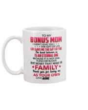 Personalized I Didn't Give U The Gift To Bonus Mom Mug back