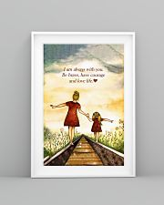 I'm Always With You Be Brave And Love Life 11x17 Poster lifestyle-poster-5