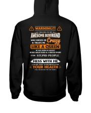 I Belong To My Awesome Boyfriend Hooded Sweatshirt thumbnail
