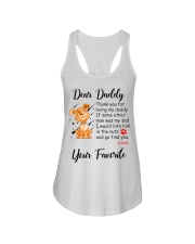 Thank you for being my daddy - dogs lover Ladies Flowy Tank thumbnail