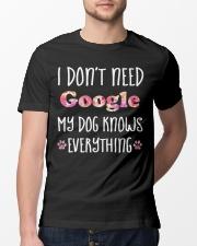 I Don't Need Google 1 Classic T-Shirt lifestyle-mens-crewneck-front-13