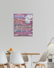 Today Is A Good Day - Elephant Mom To Son 16x20 Gallery Wrapped Canvas Prints aos-canvas-pgw-16x20-lifestyle-front-05