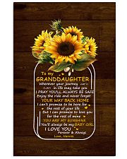 You Are My Sunshine Nannie To Granddaughter Vertical Poster tile