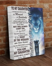 I Closed My Eyes For But A Moment Dad To Daughter 11x14 Gallery Wrapped Canvas Prints aos-canvas-pgw-11x14-lifestyle-front-09