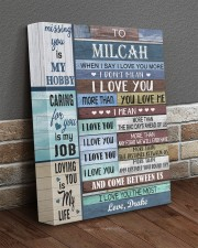 Personalized When I Say I Love U To Girlfriend 11x14 Gallery Wrapped Canvas Prints aos-canvas-pgw-11x14-lifestyle-front-10