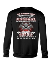 Piss Off My Stepdaughter Crewneck Sweatshirt thumbnail