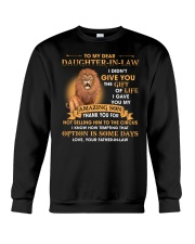 To My Dear Daughter-In-Law From Father-in-law Crewneck Sweatshirt thumbnail