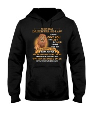 To My Dear Daughter-In-Law From Father-in-law Hooded Sweatshirt thumbnail