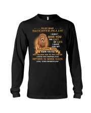 To My Dear Daughter-In-Law From Father-in-law Long Sleeve Tee thumbnail