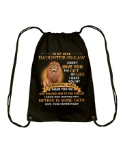 To My Dear Daughter-In-Law From Father-in-law Drawstring Bag thumbnail