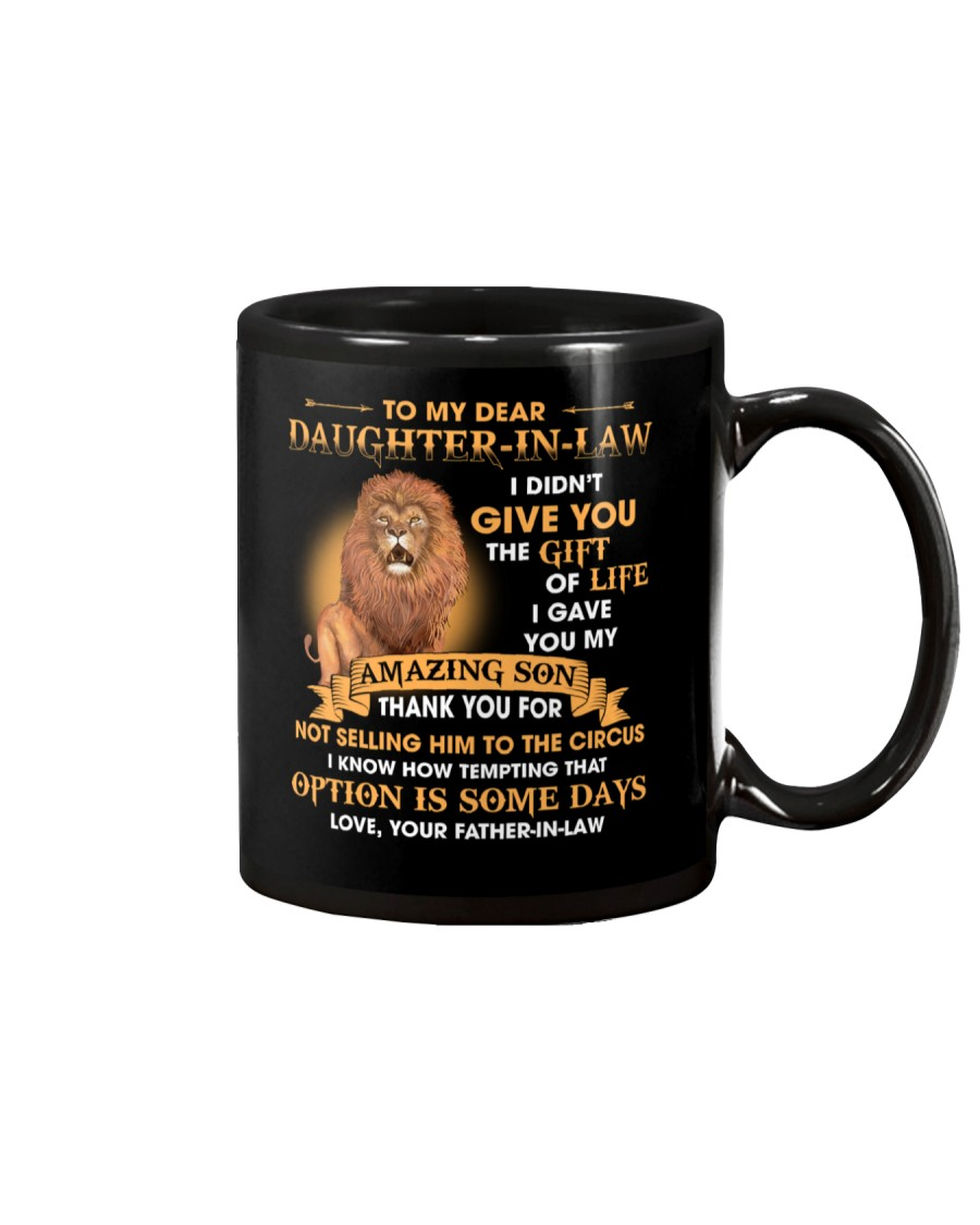 To My Dear Daughter-In-Law From Father-in-law Mug
